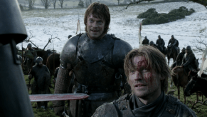 Alfie Allen, Nikolaj Coster-Waldau, Game of Thrones, Baelor
