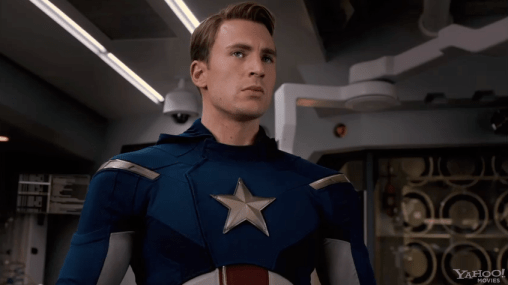 Chris Evans, The Avengers, 2012