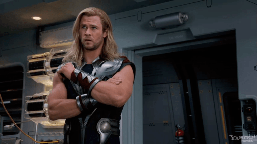 Chris Hemsworth, The Avengers, 2012, 01