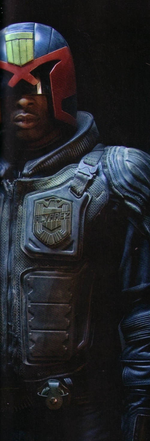 Deobia Oparei, Dredd, Empire Magazine, September 2011, 01
