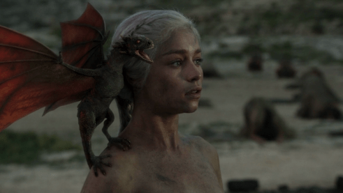 Emilia Clarke, Game of Thrones, Fire and Blood, 03