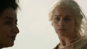 Emilia Clarke, Mia Soteriou, Game of Thrones, Fire and Blood, 01