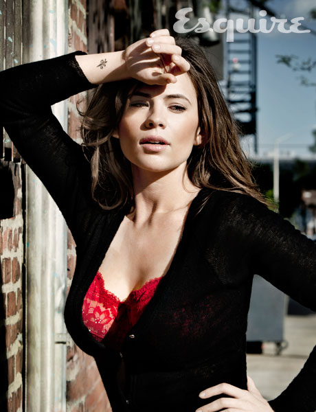 Hayley Atwell, Esquire Magazine, August 2011, 01