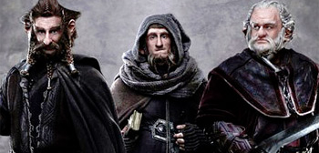 Jed Brophy, Adam Brown, Mark Hadlow, The Hobbit, 2012-2013, 02