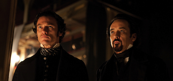 John Cusack, Luke Evans, The Raven, 04