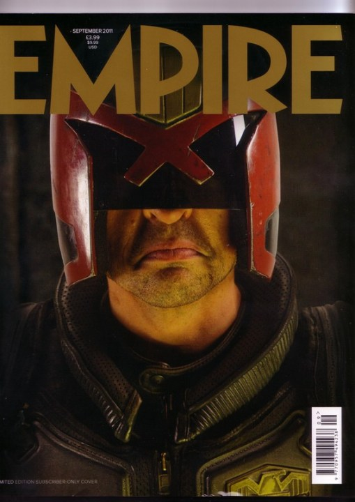 Karl Urban, Dredd, Empire Magazine, September 2011, Cover, 01