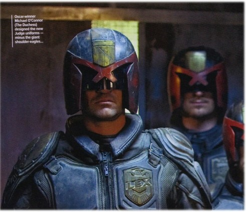 Langley Kirkwood, Dredd, Empire Magazine, September 2011, 01