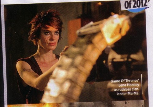 Lena Headey, Dredd, Empire Magazine, September 2011, 01