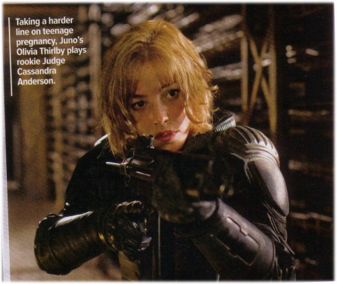 Olivia Thirlby, Dredd, Empire Magazine, September 2011, 01