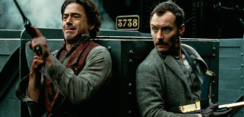 Robert Downey Jr, Jude Law, Sherlock Holmes 2: A Game of Shadows, 2011