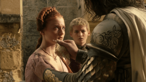 Rory McCann, Sophie Turner, Jack Gleeson, Game of Thrones, Fire and Blood, 01