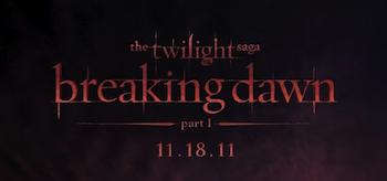 The Twilight Saga: Breaking Dawn - Part 1, 2011, Logo