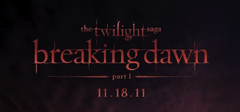 The Twilight Saga: Breaking Dawn - Part 1, 2011, Logo