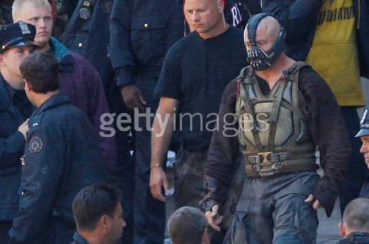 Tom Hardy, The Dark Knight Rises, Mellon Institute Set