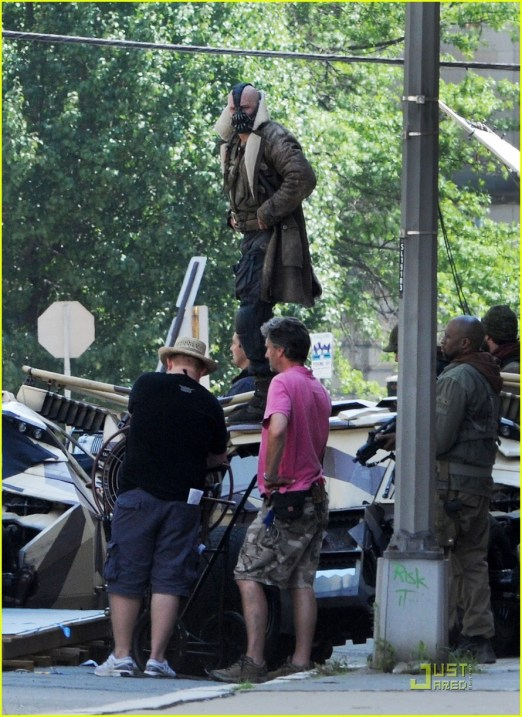 Tom Hardy, The Dark Knight Rises, 2012, Set, 02