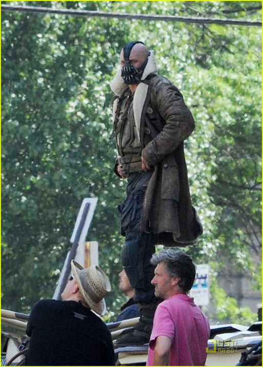 Tom Hardy, The Dark Knight Rises, 2012, Set, 04