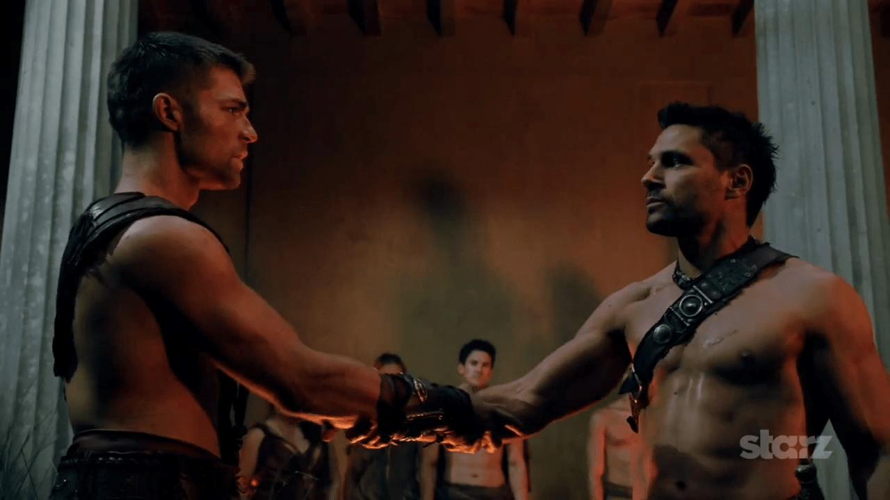 liam mcintyre, manu bennett, spartacus vengeance, 05 - filmbook