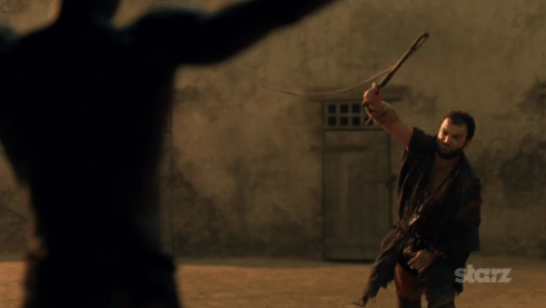 Peter Mensah, Nick E. Tarabay, Spartacus Vengeance