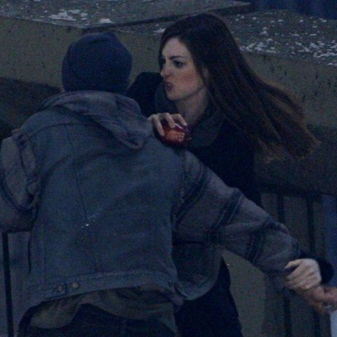 Anne Hathaway, The Dark Knight Rises 2012, Set 01