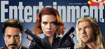 The Avengers, Entertainment Weekly October 2011 Cover, 02