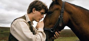 Jeremy Irvine, War Horse 2011