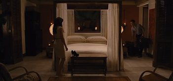 Kristen Stewart, Robert Pattinson, The Twilight Saga Breaking Dawn, Honeymoon