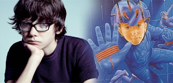 Asa Butterfield, Ender's Game Book Cover