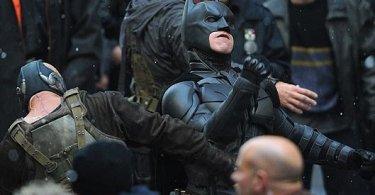 Christian Bale, Batman, Tom Hardy, Bane, The Dark Knight Rises, 01