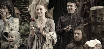 Sean Bean, Sophia Turner, Aidan Gillen, Game of Thrones