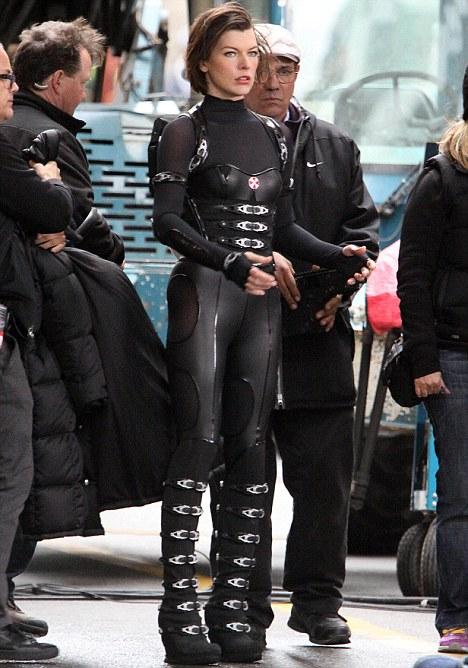 Milla Jovovich, Resident Evil: Retribution