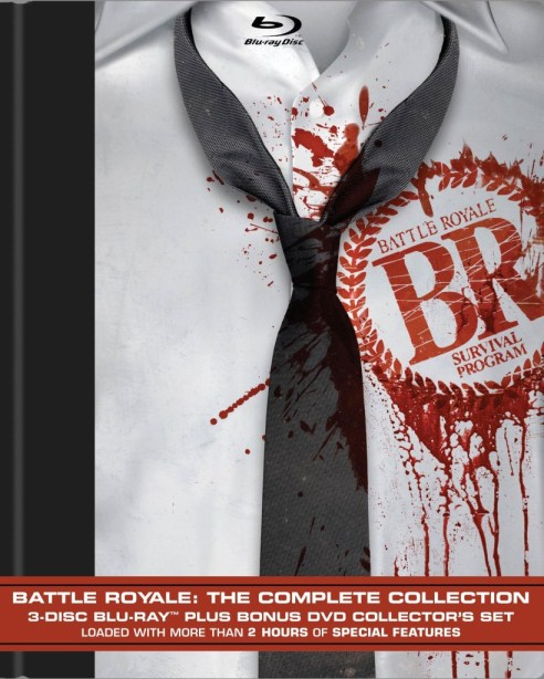 Battle Royale The Complete Collection Blu-ray