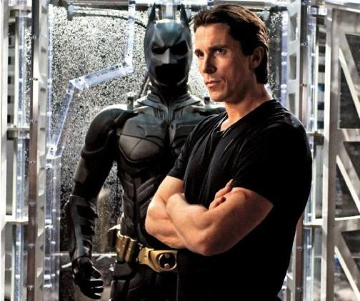 Christian Bale, Bruce Wayne, The Dark Knight Rises, Entertainment Weekly
