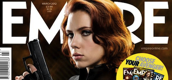 The Avengers, Black Widow, Empire Magazine Cover March 2012