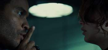 Lenny Kravitz, Jennifer Lawrence, The Hunger Games