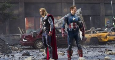Chris Evans, Chris Hemsworth, The Avengers