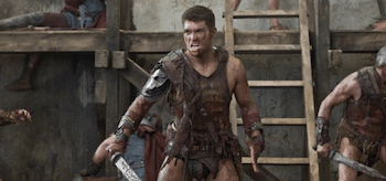 Liam McIntyre Spartacus Vengeance Wrath of the Gods