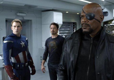 Chris Evans Robert Downey Jr Samuel L. Jackson The Avengers