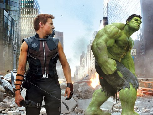 Hawkeye Hulk The Avengers
