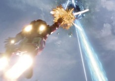 Iron Man destroying The Avengers