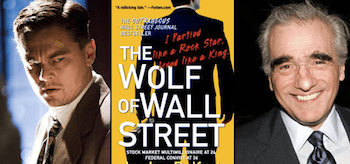 Leonardo DiCaprio Martin Scorsese The Wolf of Wall Street