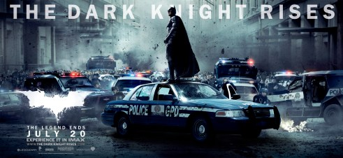 Batman The Dark Knight Rises Movie Banner