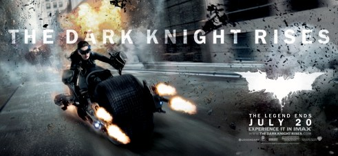 Catwoman The Dark Knight Rises Movie Banner
