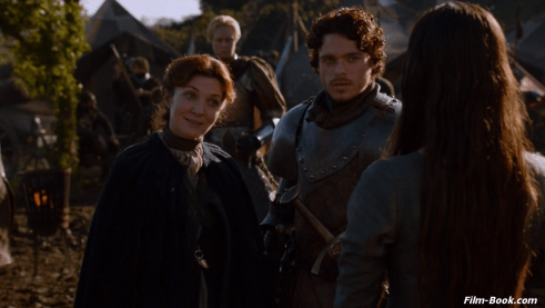 Michelle Fairley Gwendoline Christie Richard Madden Game of Thrones The Old Gods and the New