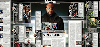 The Avengers Super Group Project Infographic Boston Globe
