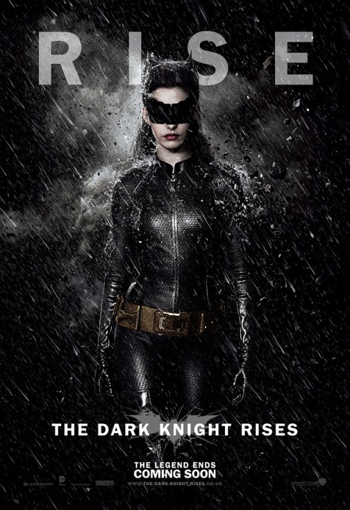 The Dark Knight Rises Catwoman Poster