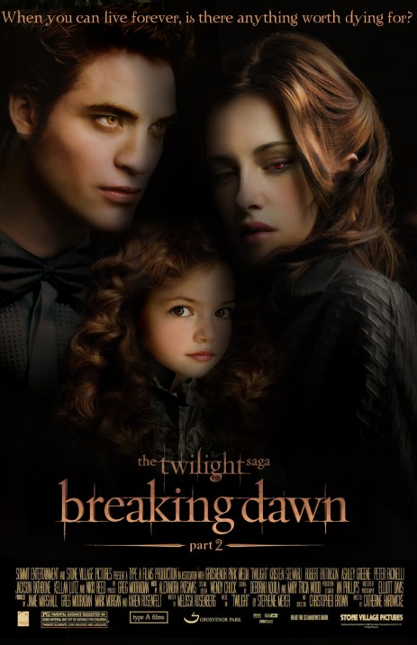 The Twilight Saga Breaking Dawn Part 2 Movie Poster