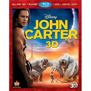 John Carter Bluray