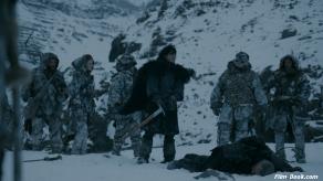 Kit Harington Game of Thrones Valar Morghulis