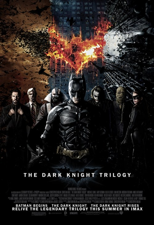The Dark Knight Trilogy Movie Poster
