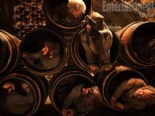 Dwarves Barrel Escape The Hobbit An Unexpected Journey Entertainment Weekly